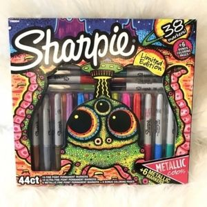 Sharpie Limited Edition 38 Permanent Markers NWT